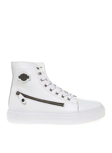 Bulldozer Bulldozer Sneaker Beyaz